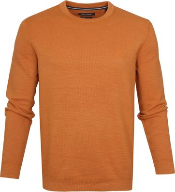 Marc O'Polo Pullover Dessin Orange
