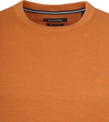 Marc O'Polo Pullover Dessin Orange