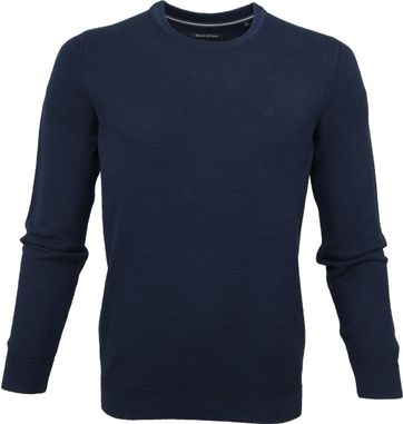 Marc O'Polo Pullover Dessin Total Eclipse