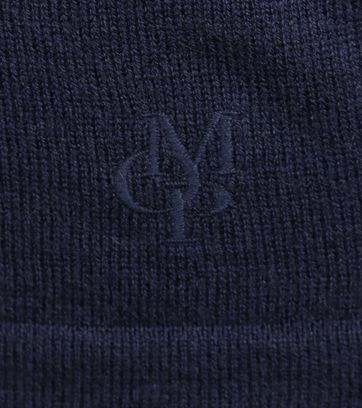 Detail Marc O\'Polo Pullover Donkerblauw