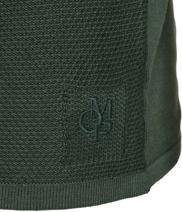 Detail Marc O\'Polo Pullover Groen