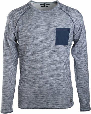 Marc O'Polo Pullover Sweatshirt Blau Streifen