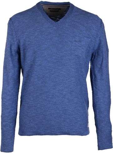 Marc O'Polo Pullover V-Neck Blue