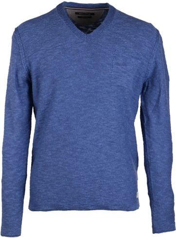 Marc O\'Polo Pullover V-Neck Blue