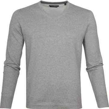 Marc O'Polo Pullover V-Neck Light Grey