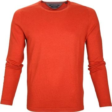 Marc O\'Polo Pullover Wolle Orange