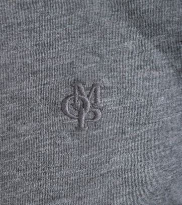 Detail Marc O\'Polo Rugby Polo Grijs