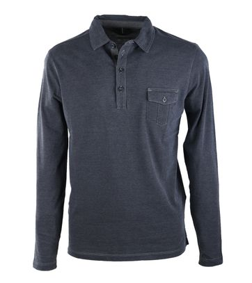 Marc O\'Polo Rugby Polo Navy Pocket