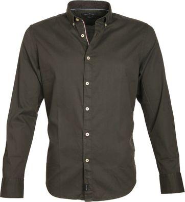 Marc O'Polo Shirt Button Down Dark Green