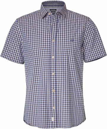Marc O\'Polo Shirt Checks Blue