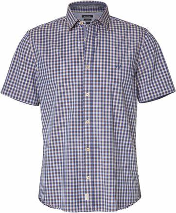 Marc O\'Polo Shirt Checks Blue