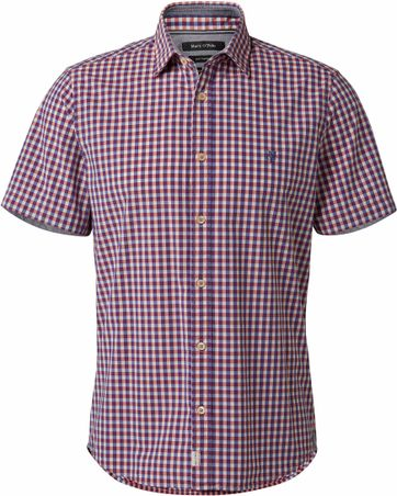 Marc O\'Polo Shirt Checks Red