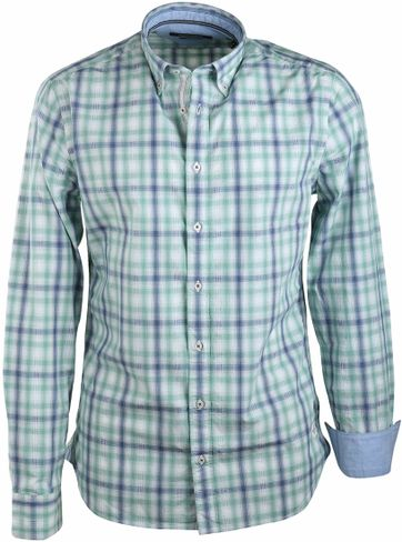 Marc O'Polo Shirt Green Checks