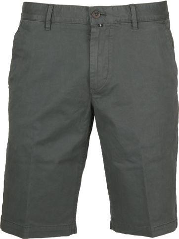 Marc O'Polo Shorts Reso Donkergroen