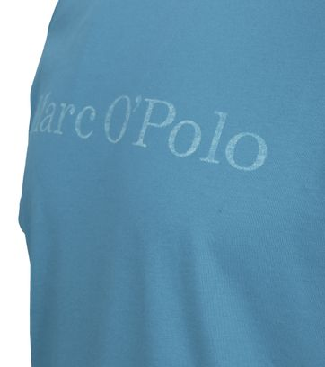 Detail Marc O\'Polo T-shirt Blauw