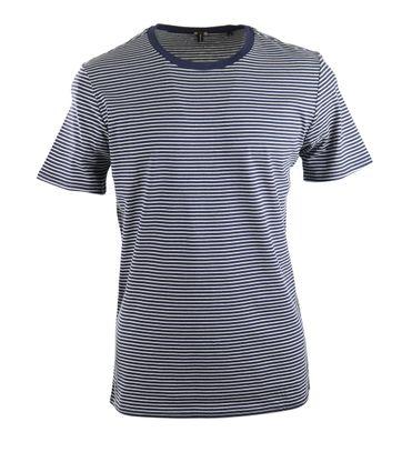 Marc O\'Polo T-shirt Dunkelblau Ringelmuster