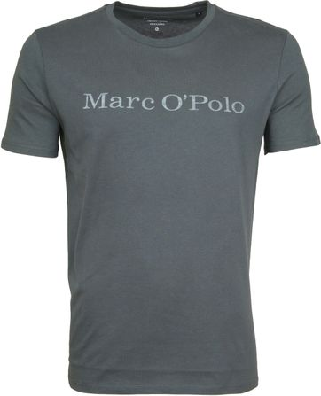 Marc O'Polo T-Shirt Grün
