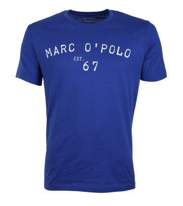 Marc O\'Polo T-shirt Logo Blue