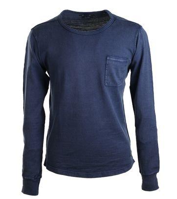 Marc O\'Polo T-shirt mit langen Ärmel Blau