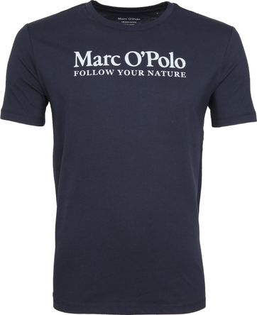 Marc O'Polo T-Shirt Nature Navy