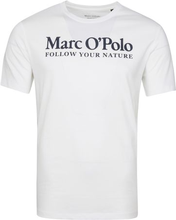 Marc O'Polo T-Shirt Nature Weiß