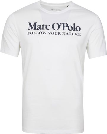 Marc O'Polo T-Shirt Nature Wit