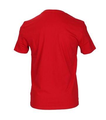 Detail Marc O\'Polo T-shirt Rood