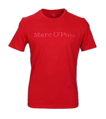 Detail Marc O\'Polo T-Shirt Rot