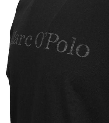 Detail Marc O\'Polo T-Shirt Schwarz
