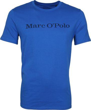 Marc O'Polo T-Shirt Victoria Blauw