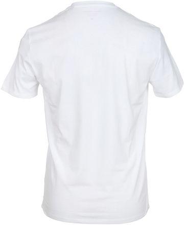 Detail Marc O\'Polo T-Shirt Weiß