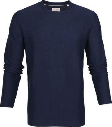 Marc O'Polo Trui Crew Neck Navy