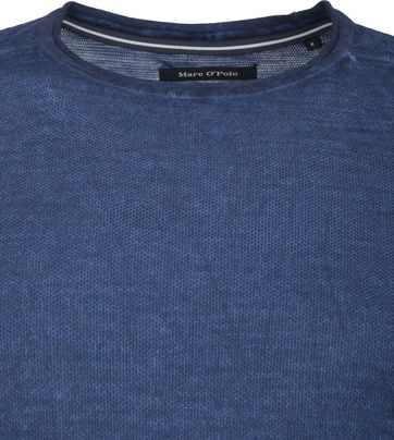 Marc O'Polo Trui Structured Donkerblauw