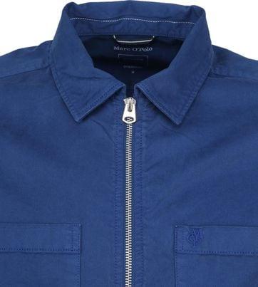 Marc O'Polo Überhemd Blau