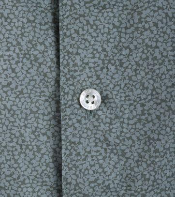 Detail McGregor Overhemd Cress Olijfgroen