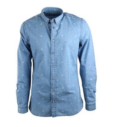 McGregor Overhemd Foster Blauw