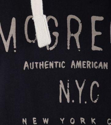 Detail McGregor Parson Hoodie Navy