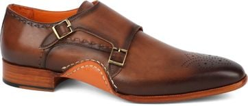 Melik Double Monk Strap Shoe Drago