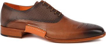 Melik Dress Shoes Zermaat Cognac