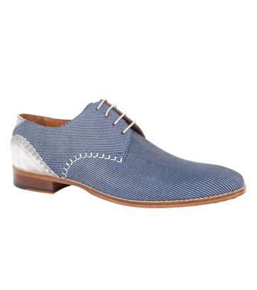 Melik Schuh Daone Blau