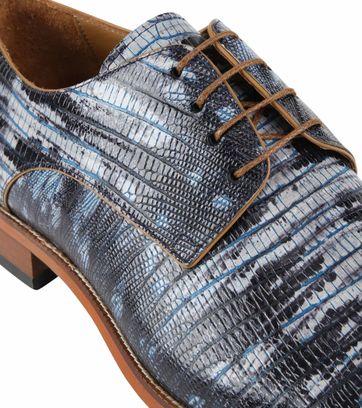 Melik Schuh Durante Blau