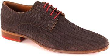 Melik Schuh Leder Bambu Braun