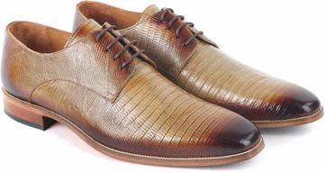 Melik Schuh Leder Beige Orsino Stillo