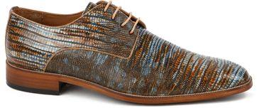 Melik Schuh Leder Durante Multicolour
