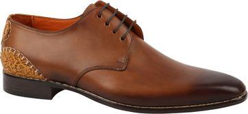 Melik Schuhe Crotone Cognac