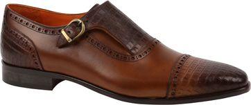 Melik Shoe Chron Cognac