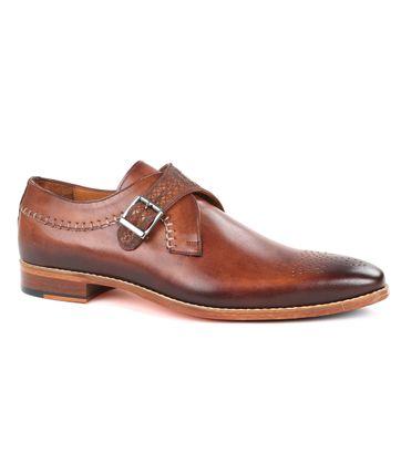 Melik Shoes Strap Eiffel Cognac