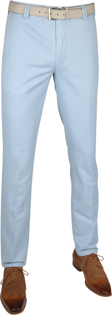 Meyer Chino New York Hellblau