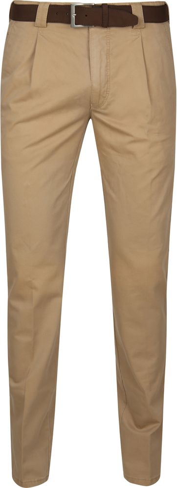 Meyer Delos Pleat Camel
