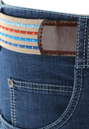Detail Meyer Jeans Dubai Blauw